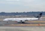 じーく。さんが、成田国際空港で撮影したルフトハンザドイツ航空 A340-313Xの航空フォト(飛行機 写真・画像)
