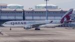 Ariesさんが、関西国際空港で撮影したカタール航空 A330-202の航空フォト(写真)