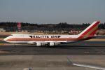 成田国際空港 - Narita International Airport [NRT/RJAA]で撮影されたカリッタ エア - Kalitta Air [CKS]の航空機写真
