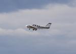 ドリさんが、福島空港で撮影した航空大学校 Baron G58の航空フォト(写真)