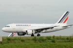 バーバ父さんが、パリ シャルル・ド・ゴール国際空港で撮影したエールフランス航空 A319-111の航空フォト(写真)