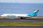 orbis001さんが、羽田空港で撮影したガンビア政府 Il-62Mの航空フォト(写真)