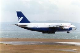 amagoさんが、関西国際空港で撮影したポレット・エアラインズ An-124-100 Ruslanの航空フォト(飛行機 写真・画像)