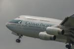 Dream Cabinさんが、福岡空港で撮影したキャセイパシフィック航空 747-467の航空フォト(飛行機 写真・画像)