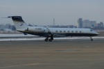 北の熊さんが、新千歳空港で撮影した北京首都航空 G-V-SP Gulfstream G550の航空フォト(飛行機 写真・画像)