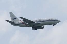 しんさんが、シンガポール・チャンギ国際空港で撮影したトライエムジー イントラ アジア エアラインズ 737-210C/Advの航空フォト(飛行機 写真・画像)