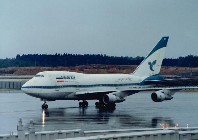 イラン航空 Boeing 747SP EP-IAD...