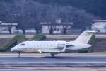 パンダさんが、成田国際空港で撮影したTAG エイビエーション・アジア CL-600-2B16 Challenger 604の航空フォト(写真)