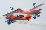 いおりさんが、岩国空港で撮影したブライトリング・ジェット・チーム PT-17 Kaydetの航空フォト(写真)