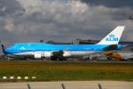 りんたろうさんが、成田国際空港で撮影したKLMオランダ航空 747-406Mの航空フォト(写真)
