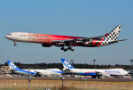 さくらの城南山。さんが、成田国際空港で撮影したエティハド航空 A340-642Xの航空フォト(飛行機 写真・画像)