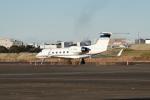 tsubasa0624さんが、羽田空港で撮影したユタ銀行 G-IV Gulfstream IV-SPの航空フォト(写真)