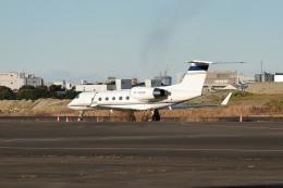 tsubasa0624さんが、羽田空港で撮影したユタ銀行 G-IV Gulfstream IV-SPの航空フォト(飛行機 写真・画像)
