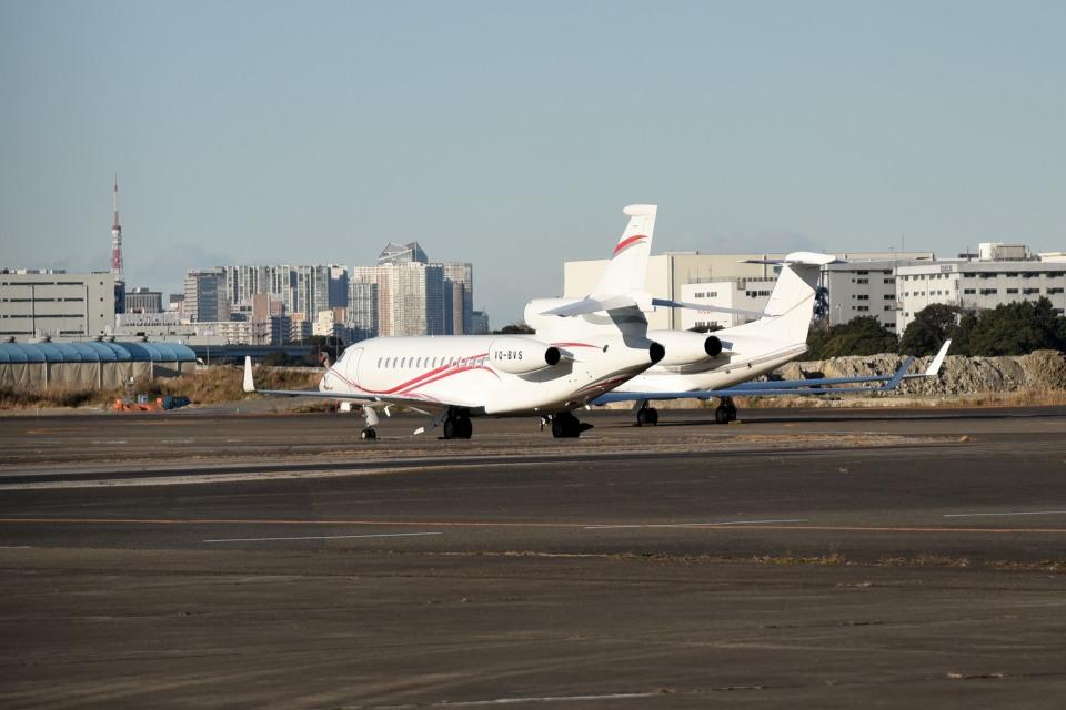 tsubasa0624さんのプライベートエア Dassault Falcon 7X (VQ-BVS) 航空フォト