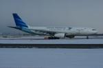 北の熊さんが、新千歳空港で撮影したガルーダ・インドネシア航空 A330-243の航空フォト(飛行機 写真・画像)