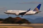 ピリンダさんが、静岡空港で撮影したユナイテッド航空 737-724の航空フォト(写真)