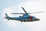 Wasawasa-isaoさんが、静浜飛行場で撮影した静岡県警察 A109E Powerの航空フォト(飛行機 写真・画像)