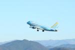 のんびりこまきさんが、静岡空港で撮影したフジドリームエアラインズ ERJ-170-100 (ERJ-170STD)の航空フォト(写真)