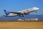 Fly!ゴン太さんが、高知空港で撮影した全日空 767-381/ERの航空フォト(写真)