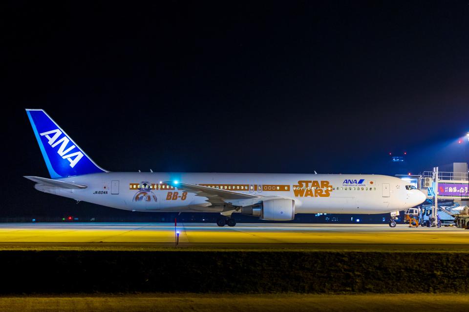 カヤノユウイチさんの全日空 Boeing 767-300 (JA604A) 航空フォト