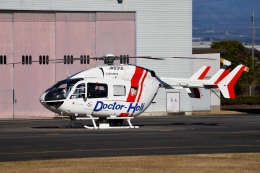 tsubasa0624さんが、群馬ヘリポートで撮影した朝日航洋 BK117C-2の航空フォト(写真)