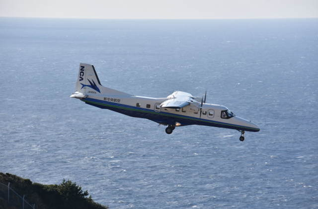 ohohoさんが、神津島空港で撮影した新中央航空 Do 228-212 NGの航空フォト(飛行機 写真・画像)