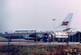 JA8037さんが、バルセロナ空港で撮影したブラーテンズSAFE 737-205/Advの航空フォト(飛行機 写真・画像)