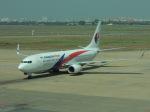 シフォンさんが、タンソンニャット国際空港で撮影したマレーシア航空 737-8H6の航空フォト(写真)