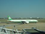 シフォンさんが、タンソンニャット国際空港で撮影したエバー航空 777-35E/ERの航空フォト(写真)