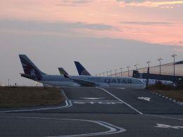 294_chopperさんが、関西国際空港で撮影したカタール航空 A330-202の航空フォト(飛行機 写真・画像)