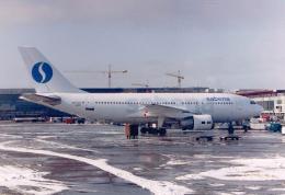 JA8037さんが、ブリュッセル国際空港で撮影したサベナ・ベルギー航空 A310-222の航空フォト(飛行機 写真・画像)