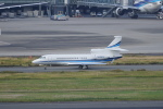 pringlesさんが、羽田空港で撮影したアメリカ企業所有 Falcon 7Xの航空フォト(写真)