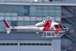 パンダさんが、東京ヘリポートで撮影した朝日航洋 AS355F1 Ecureuil 2の航空フォト(飛行機 写真・画像)