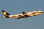 かみゅんずさんが、羽田空港で撮影したルフトハンザドイツ航空 747-830の航空フォト(写真)