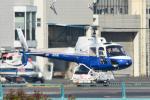 パンダさんが、東京ヘリポートで撮影した東邦航空 AS350B Ecureuilの航空フォト(飛行機 写真・画像)