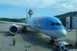 TRIPworldさんが、サングスター国際空港で撮影したトムソン航空 787-8 Dreamlinerの航空フォト(飛行機 写真・画像)