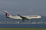 Osakaさんが、関西国際空港で撮影したカタール航空 A330-202の航空フォト(写真)