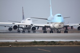 tsubameさんが、北九州空港で撮影した大韓航空 747-4B5F/ER/SCDの航空フォト(写真)