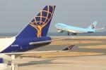 おみずさんが、北九州空港で撮影したアトラス航空 747-47UF/SCDの航空フォト(写真)
