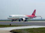 delawakaさんが、襄陽劉集空港で撮影した深圳航空 A320-214の航空フォト(飛行機 写真・画像)