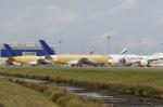 りさきちさんが、トゥールーズ・ブラニャック空港で撮影したスカイマーク A380-841の航空フォト(写真)