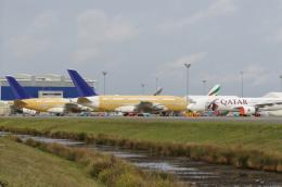 りさきちさんが、トゥールーズ・ブラニャック空港で撮影したスカイマーク A380-841の航空フォト(飛行機 写真・画像)