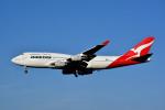トロピカルさんが、成田国際空港で撮影したカンタス航空 747-438の航空フォト(飛行機 写真・画像)