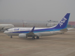 JA8037さんが、杭州蕭山国際空港で撮影した全日空 737-781の航空フォト(写真)