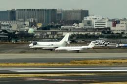 tsubasa0624さんが、羽田空港で撮影したアメリカ企業所有 G650 (G-VI)の航空フォト(写真)