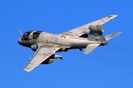 kuni_yさんが、厚木飛行場で撮影したアメリカ海兵隊 EA-6B Prowler (G-128)の航空フォト(飛行機 写真・画像)