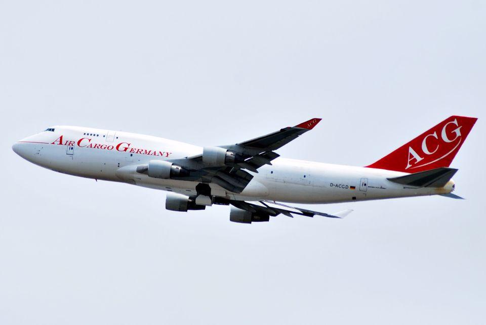 orbis001さんのエア・カーゴ・ジャーマニー Boeing 747-400 (D-ACGD) 航空フォト