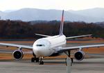 ふじいあきらさんが、広島空港で撮影したデルタ航空 A330-323Xの航空フォト(写真)
