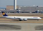 じーく。さんが、羽田空港で撮影したルフトハンザドイツ航空 A340-642の航空フォト(写真)