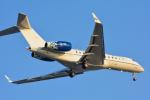 パンダさんが、羽田空港で撮影したExecuJet スカンジナビア BD-700-1A10 Global Expressの航空フォト(写真)